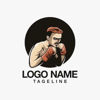 ファイターのロゴデザイン