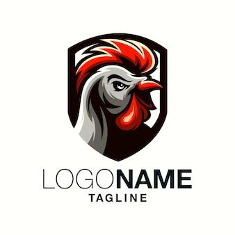 Петух дизайн логотипа