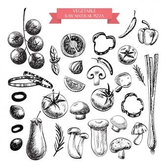 Овощи проектирует коллекцию