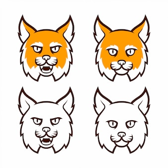 山猫マスコットヘッドコレクション
