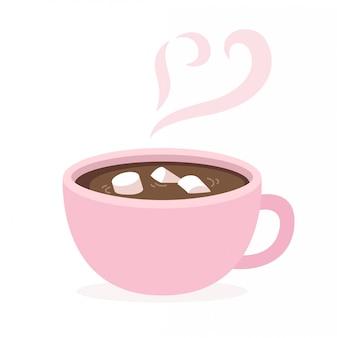 ホットチョコレートカップ