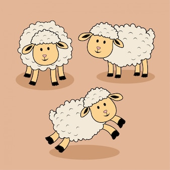 Мультфильм овец