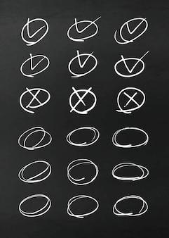 ベクトル鉛筆デザイン要素
