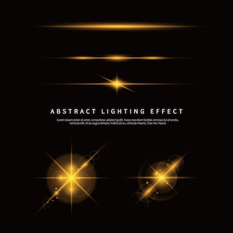 Простой световой эффект фона