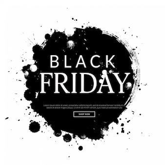黒い金曜日の背景、ショッピングテンプレート