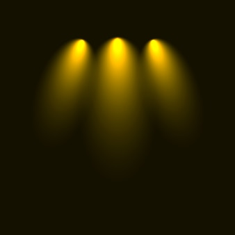 Набор вспышек, огней и искр. абстрактные золотые огни, изолированные на прозрачном фоне. яркие золотые вспышки и блики