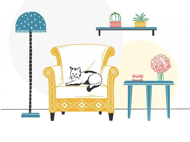 家具およびさまざまなインテリアアイテム