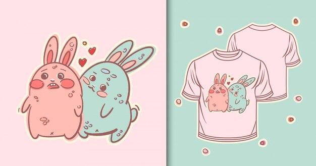 Кролики печать