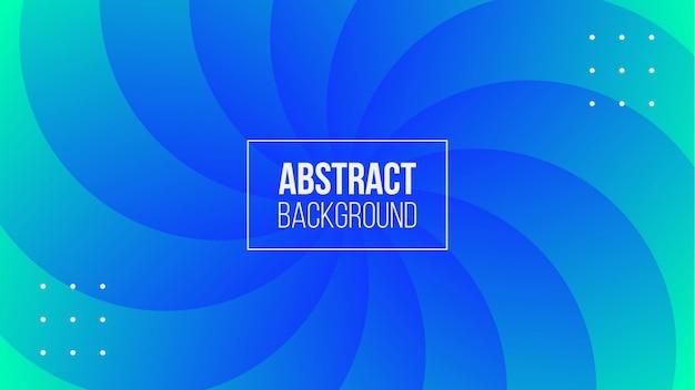 抽象的なブルーサークル形状のグラデーションの背景