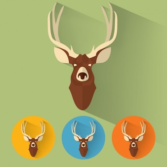 鹿コレクションをデザイン