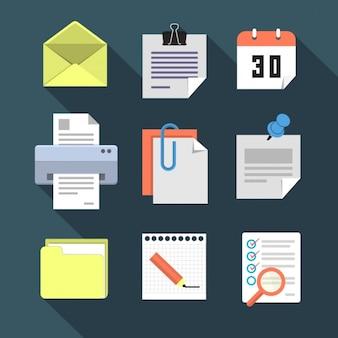 Коллекция бизнес иконки
