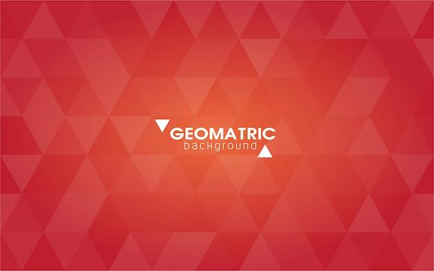 抽象的な幾何学的な背景、ポリゴン、三角形からのベクトル