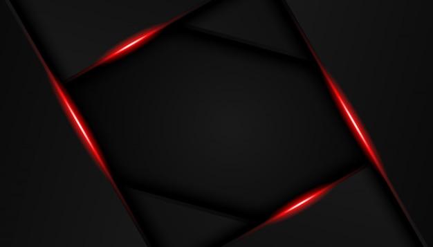 Роскошные ярко-красные линии современный спортивный фон