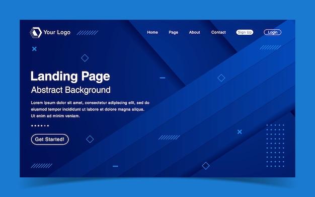 Шаблон целевой страницы сайта