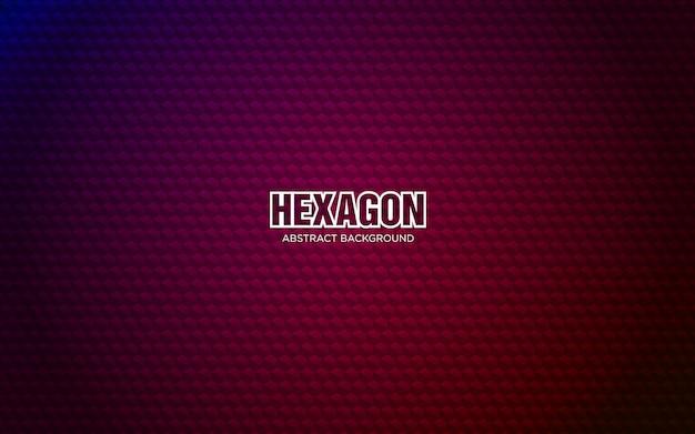 Шестиугольник абстрактный фон с темно-красным цветом