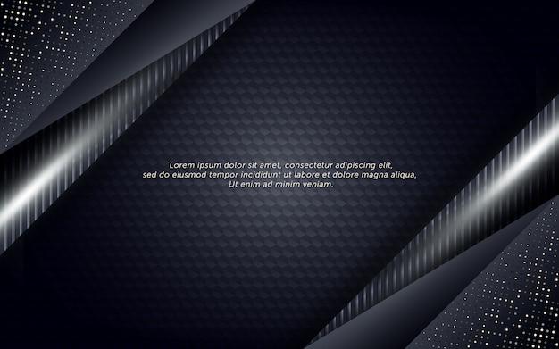 Абстрактный шаблон фона со стальным эффектом и блеском