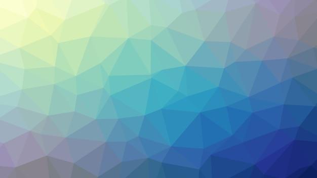 抽象的な背景カラフルなブルーポリゴントライアングルダイヤモンド