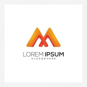 Современный абстрактный логотип или шаблон логотипа для фирменного стиля