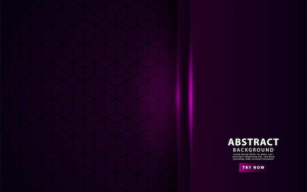 豪華な紫色のオーバーレイレイヤーの背景