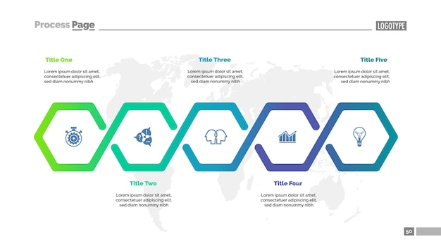 Шаблон шаблона процесса рабочего процесса. визуализация бизнес-данных.