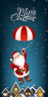 クリスマス垂直バナーデザイン