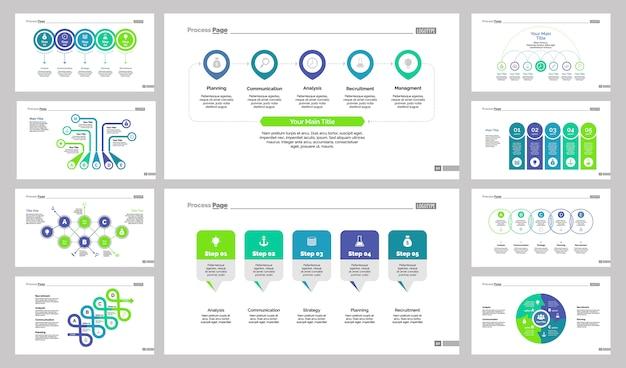 Десять бизнес-шаблонов слайдов