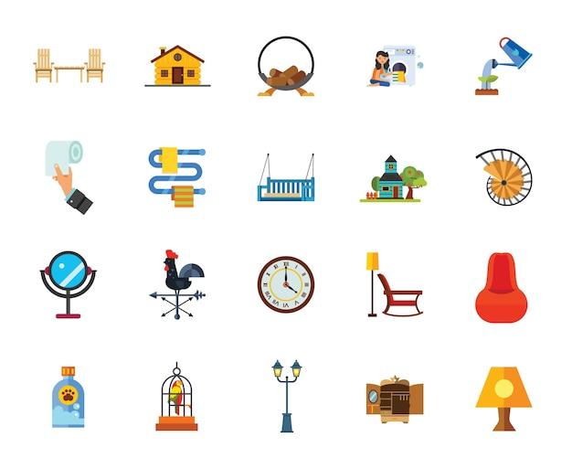 Набор иконок для дома