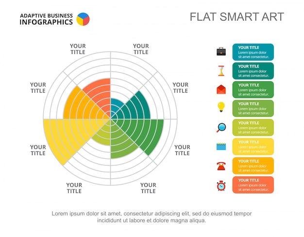 Четыре шаблона сравнения вариантов слайдов
