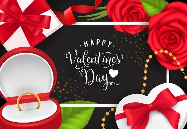 バレンタインギフトとお祝いレター