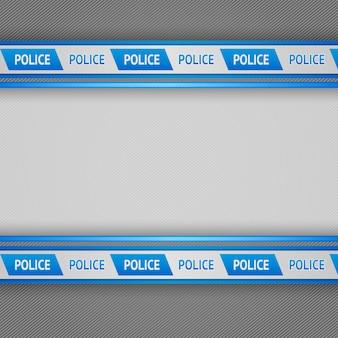 Полицейские полосы фон