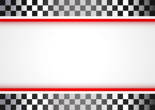赤い背景のレース