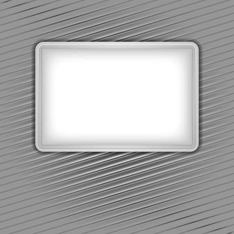 コーデュロイの背景に白い空白