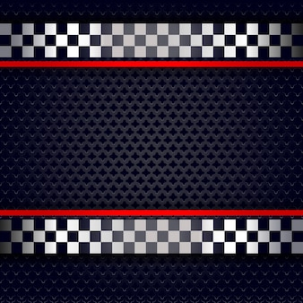 Фон металлический перфорированный лист для гонки