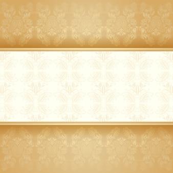 背景の黄金の装飾