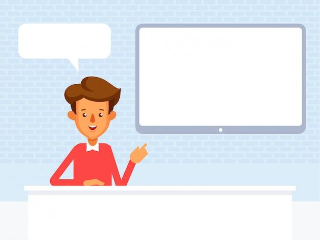 Концепция видео блоггера