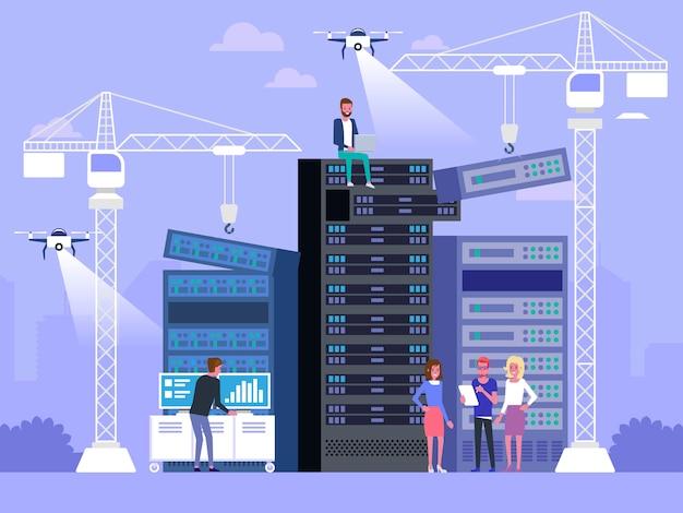データセンターのコンセプト