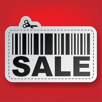 Продажа наклейка со штрих-кодом