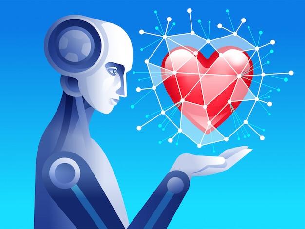心を持つロボット