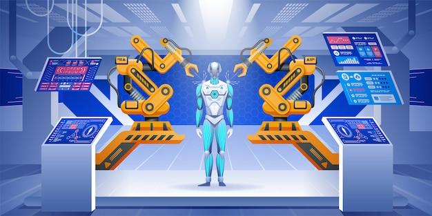 ロボット組立