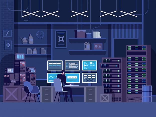 危険なハッカーが政府のデータサーバーに侵入
