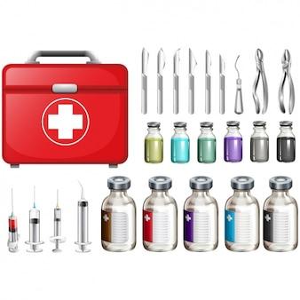 Коллекция медицинских элементов