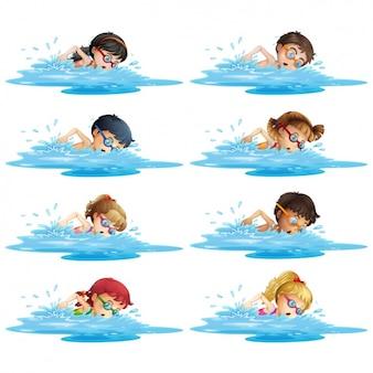 Дети плавание