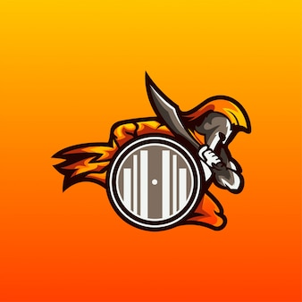 スパルタのロゴのベクトル
