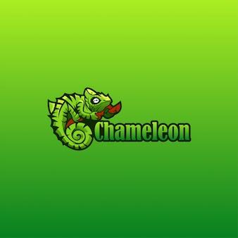 Хамелеон логотип вектор