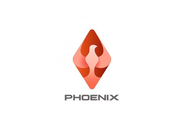 Феникс птица логотип