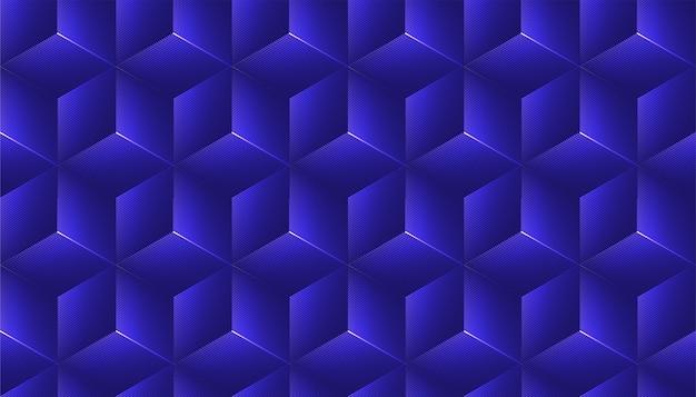 Абстрактная безшовная предпосылка с украшением куба.