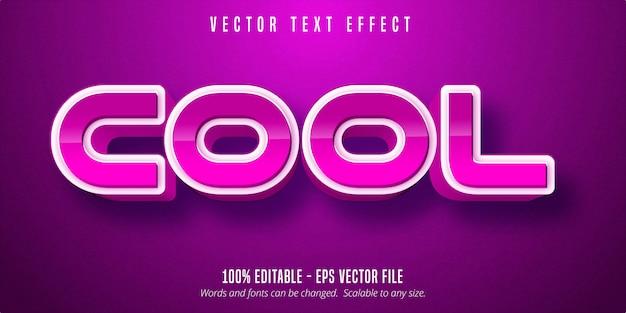 Классный текст, игровой стиль, редактируемый текстовый эффект