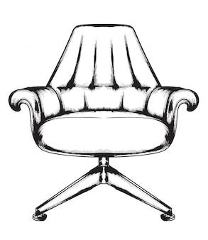 Богатое кресло в стиле барокко