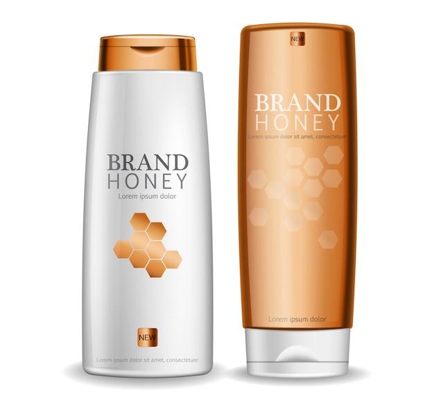 Бутылки медового крема