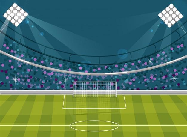 サッカーフィールドの背景